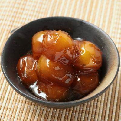 三温糖で金柑の甘煮