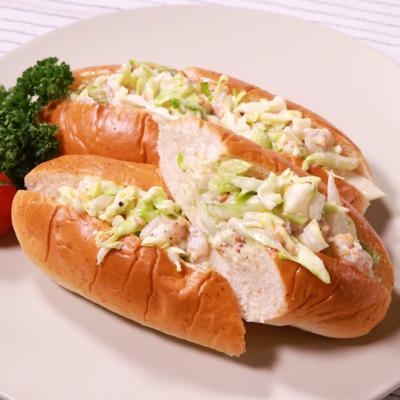 甘エビのコールスローサンドイッチ