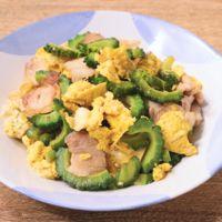 豚バラ肉の簡単ゴーヤチャンプル
