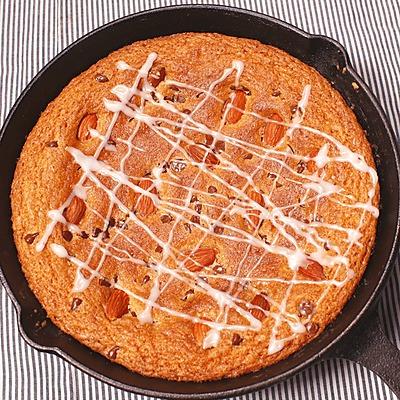 ホットケーキミックスでスキレットクッキー