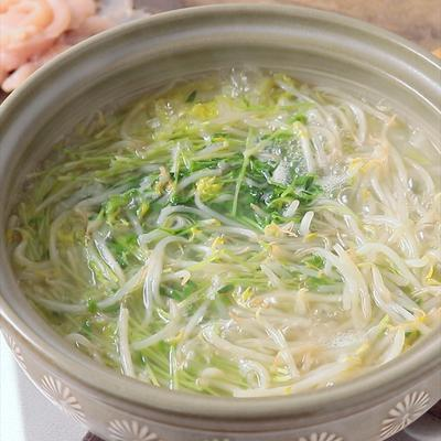 たっぷり野菜の節約生姜鍋