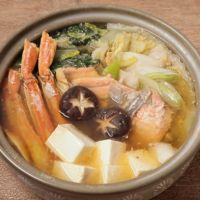 味噌でコクうま カニ鍋