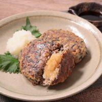 大豆とひじきのハンバーグ