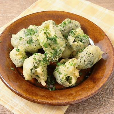 ブロッコリーのチーズ天ぷら