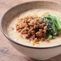低糖質麺で豆乳スープの担々麺