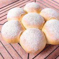 卵と乳製品不使用のプレーンなちぎりパン