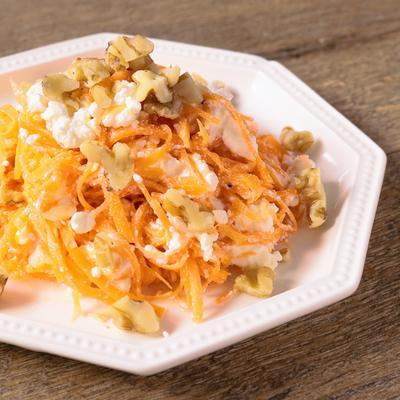 簡単にんじんとカッテージチーズのサラダ