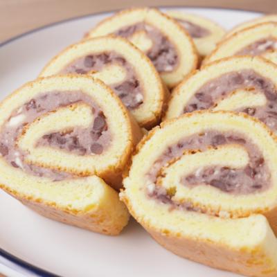 伊達巻風 あんロールケーキ