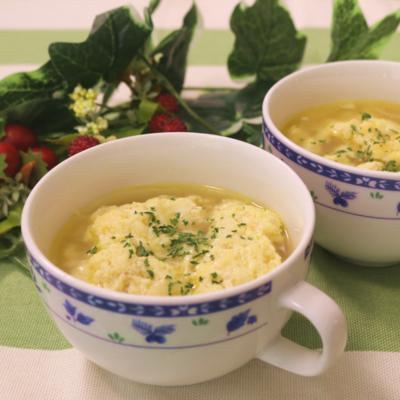 ふわとろチーズスープ
