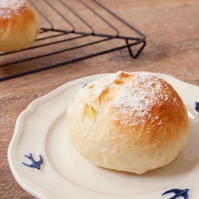クリームチーズ入りゆず茶パン