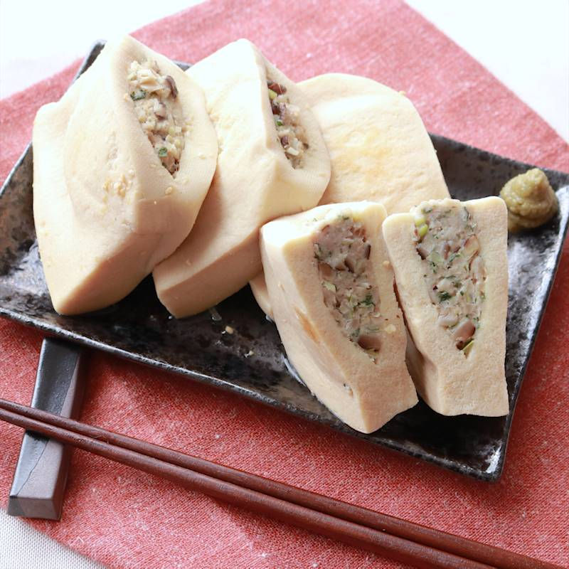 高野 豆腐 肉 詰め