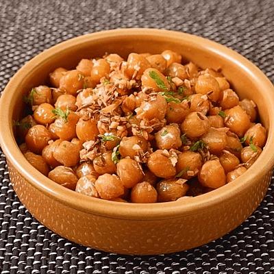 クミン香る ひよこ豆のスパイス炒め