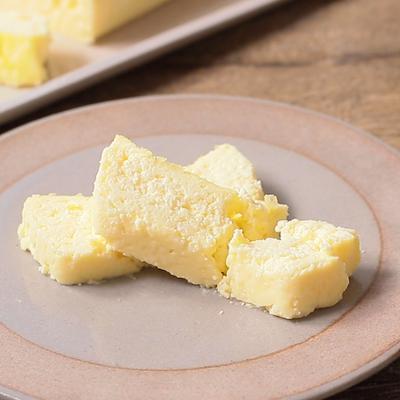 低温でじっくりチーズケーキ