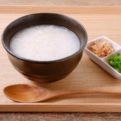 お鍋で作る玄米粥