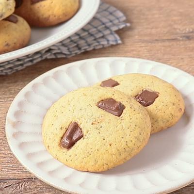 紅茶とチョコレートのクッキー