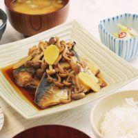 鯖のしょうが醤油煮