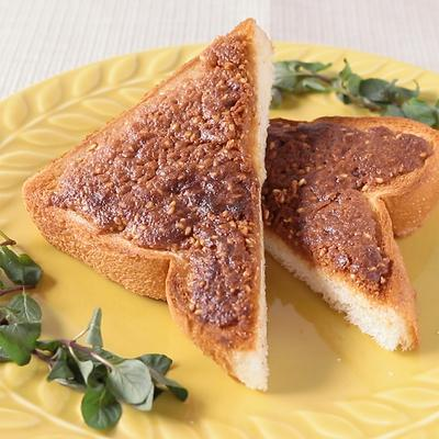 濃厚きな粉バターのセサミトースト