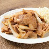 豚肉とエシャレットの生姜焼き