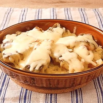 アジとマッシュポテトのチーズ焼き