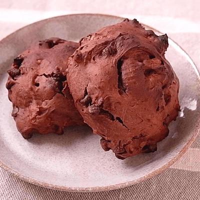 ホットケーキミックスで 簡単チョコスコーン