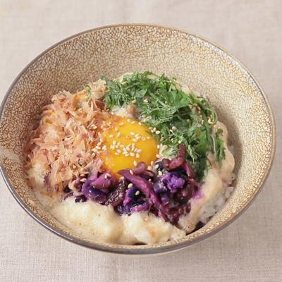 納豆のふわとろたまご丼
