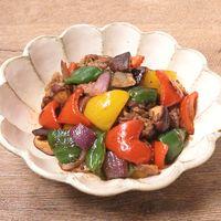 牛肉と彩り野菜のXO醤炒め