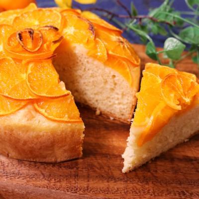 卵バター不使用!オレンジケーキ