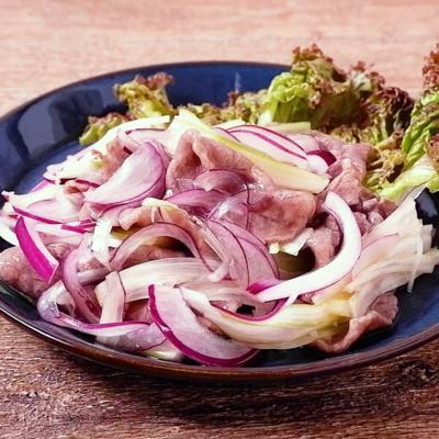 牛肉とセロリのタイ風おかずサラダ