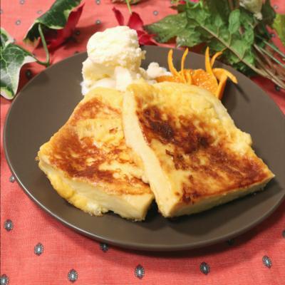 ヘルシー!高野豆腐レンチトースト