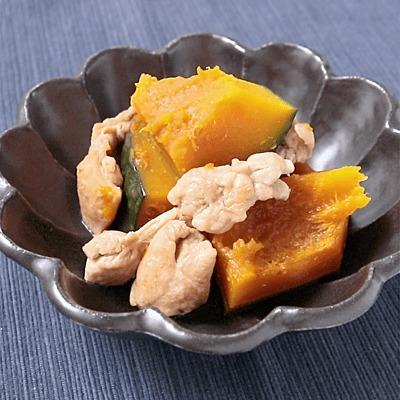 鶏もも肉とかぼちゃの甘辛煮