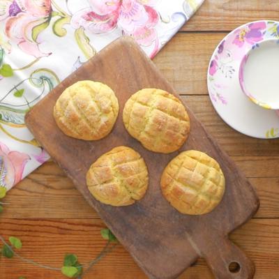 HMで 簡単メロンパン