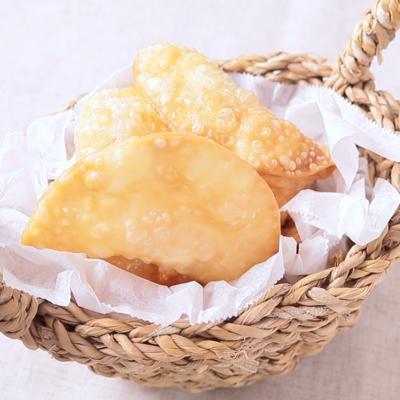 明太子クリームチーズのパリパリおつまみ