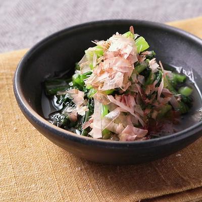 レンジで簡単 小松菜のお浸し