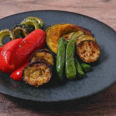 シンプルに焼き野菜
