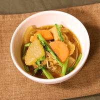 冬を楽しむ 根菜ときのこのうま煮