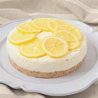 レモンたっぷり レモンのレアチーズケーキ