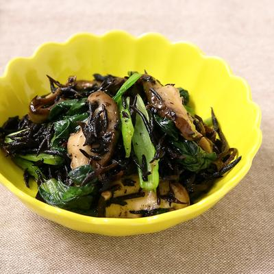 ひじきと小松菜の炒め煮