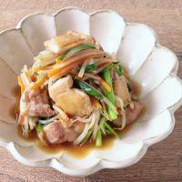 鶏もも肉と野菜のオイスターソース炒め