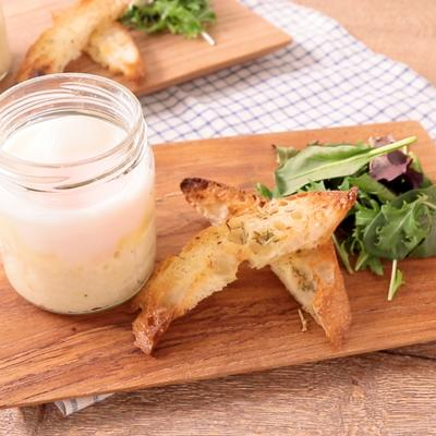 チーズとろーり エッグスラット