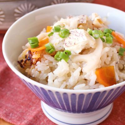 鯛と根菜の炊き込みごはん