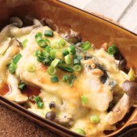 簡単 ブリと野菜のチーズ蒸し焼き