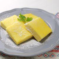 レンジで簡単 シフォンケーキ