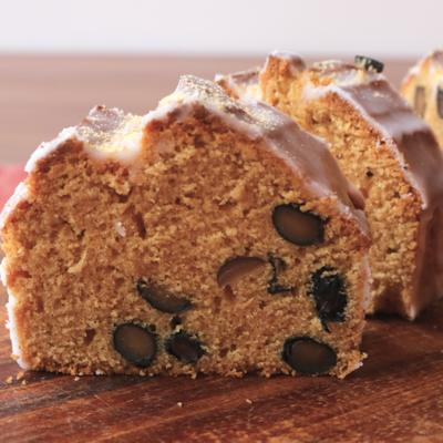 黒豆きな粉の和風パウンドケーキ