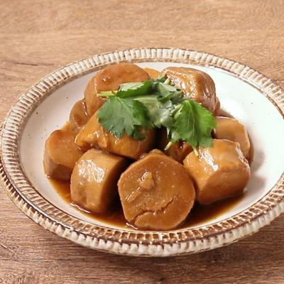 ゆず香る 京芋の照り煮