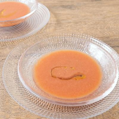 冷やしておいしい トマトのガスパチョ