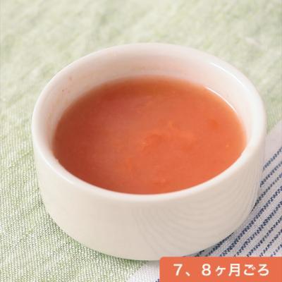 電子レンジで作る トマトのとろとろだし煮