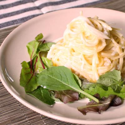 真っ白 濃厚チーズクリームスパゲティ