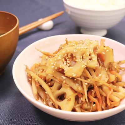 ほっこり和食 根菜のきんぴら