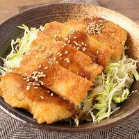 お手軽豚バラソースカツ丼