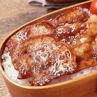 焼肉のタレでお手軽豚カルビ弁当